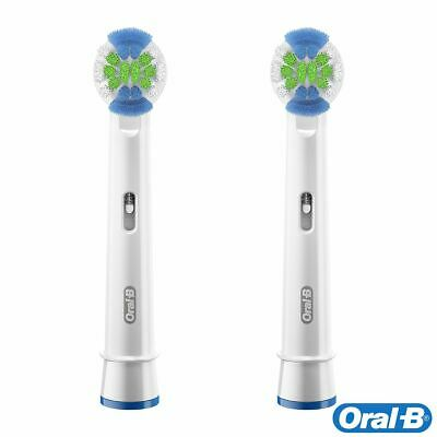 2 x Oral-B Precision Clean Electric Toothbrush Replacement Bacteria Guard Heads