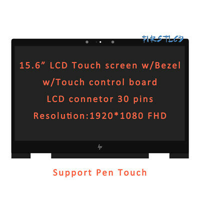 925736-001 HP Envy X360 15M-BP111DX 15M-BP112DX  LCD Touch Screen Assembly&Bezel