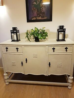 large antique sideboard Shabby  chic