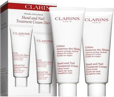 Clarins - Hand and Nail Treatment Cream Duo (100ml x 2)