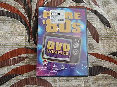 Circut City Pure 80's Promo Dvd Sampler New Music Videos Safety Dance More