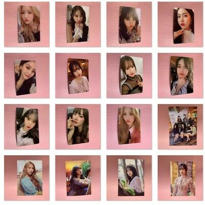 GFRIEND Official PHOTOCARD Only 2nd Album TIME FOR US [Limited Edition] Select
