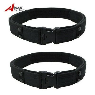 """2pcs Tactical 2"""" inch Military Army Police SWAT Security Utility Nylon Duty Belt"""