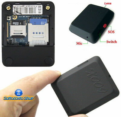 Microspia Gsm Spia Ambientale Audio Video Cimice X009 Registrazione Micro Sd