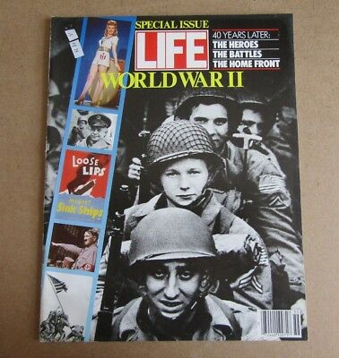 Life Magazine Special Issue - World War Ii - See Images For Contents Page