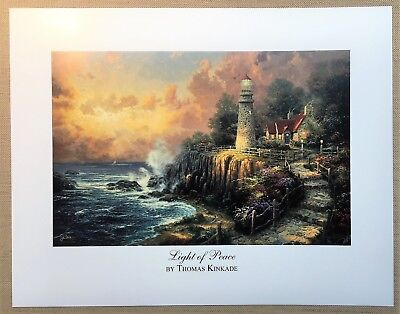"Thomas Kinkade Open Edition print ""Light of Peace"""