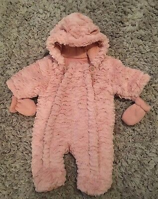 Bn George Snowsuit All In One Coat Jacket Firstsize Newborn
