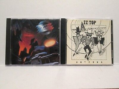 ZZ Top 2 CD Lot Recycler + Antenna