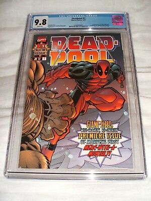 Deadpool 1 1997 Cgc 9.8 White Pages Key Issue