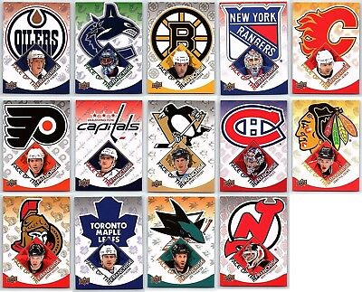 2009-10 UPPER DECK FACE OF THE FRANCHISE COMPLETE 14 CARD INSERT SET LOT Mint BV