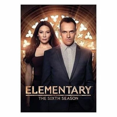 Elementary:Season 6 The Sixth (6 Disc DVD Set, 2018) New & Sealed, Free Shipping