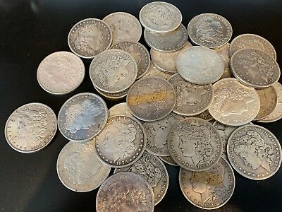 Morgan Dollars - Circulated!  Buy as many as you'd like w FREE SHIPPING!