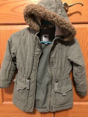 07a1bff7c GIRLS XS 5 Old Navy Red Winter Coat -  2.99