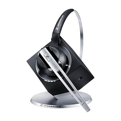 Sennheiser Dw Office Dect Wireless Headset System +Power Supply+ Auxiliary Cable