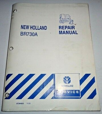 Heavy Equipment Parts & Accessories New Holland BR740A BR750A ...