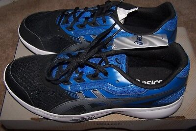 e568843a7a0c ASICS MENS STORMER Running Shoes T741S.4593 Imperial Silver Black ...