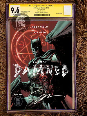Batman Damned #1 Jim Lee Cover CGC 9.6 Signed by Jim Lee