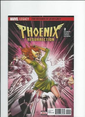 Marvel Comics Phoenix Resurrection Return of Jean Grey 2 NM-/M 2017