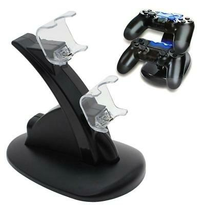 For PlayStation PS4 PlayStation 4 Pro Dual Controller Stand Charger Dock Station
