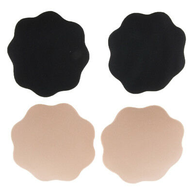 Petal Shape Adhesive Breast Nipple Cover Sticker Bra Pad Patch Disposable