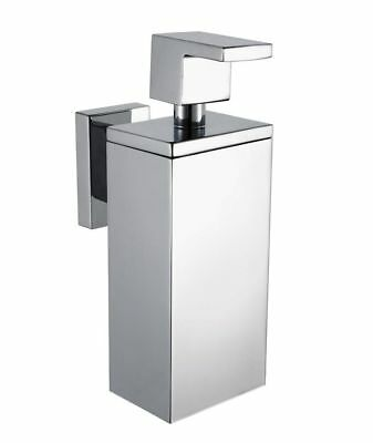 Haceka Edge Soap Dispenser Solid Stainless Steel Chrome Plated -