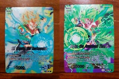 Dragon Ball Super Broly, the Awakened Threat P-092 PR & SS Gogeta P-091 PR #3