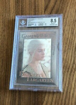 HBO Game of Thrones~KHALESSI DAENERYS TARGARYEN #66~Foil Graded Card~BGS 8.5