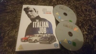 The Italian Job (DVD, 2009, 2-Disc 40th Anniversary Edition) Michael Caine