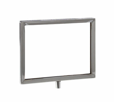 """5.5""""H x 7""""W Horizontal Sign Holder with 3/8"""" Threaded Receiver   Pack of 24"""