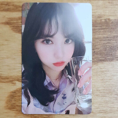 Eunha Official Photocard GFriend Time For Us 2nd Album Limited Edition Genuine