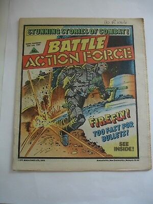 BATTLE ACTION FORCE 20th July 1985