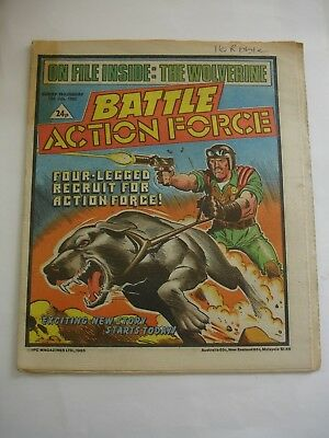 BATTLE ACTION FORCE 13th July 1985