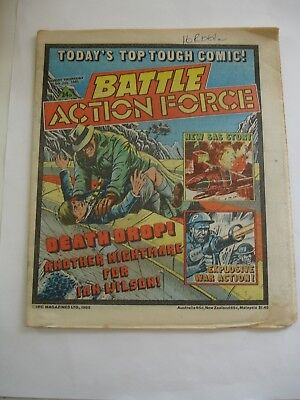 BATTLE ACTION FORCE 6th July 1985
