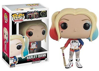 Funko Pop Harley Quinn Suicide Squad #97 DC Movies Collectible Joker Figure Toy