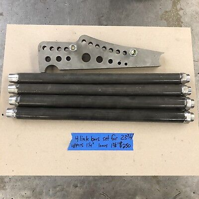 Drag Race 4 Link Chassis Brackets And Bars