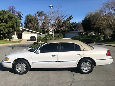 2001 Lincoln Continental LUXURIOUS PEARL W/ IVORY CORROSION FREE WEST COAST LADY! LOW MILEAGE 99K EXCELLENT A TO Z
