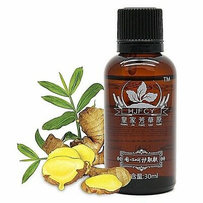 1-5 PCS Arrival Plant Therapy Lymphatic Drainage Ginger Oil Body [100% Natural]