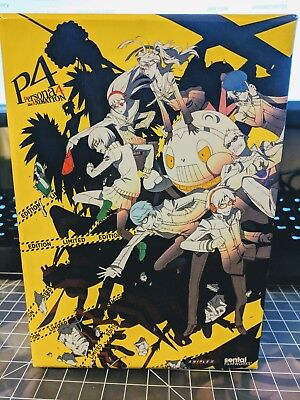 Persona 4 the Animation BluRay DVD Limited Collector's Edition - Sentai Filmwork