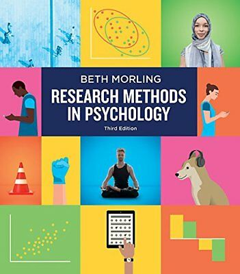 [PDF] Research Methods in Psychology: Evaluating a World of Information 3rd 2018
