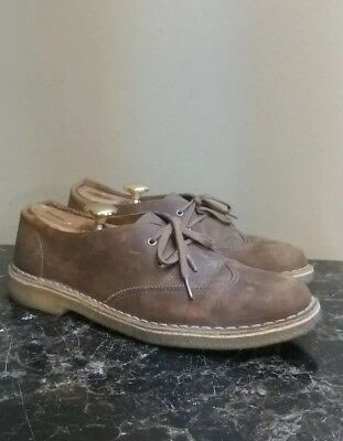 32feb1964caa7 CLARKS WATTS PACE Men s Oxford Brown Leather Casual Shoes 26119637 ...