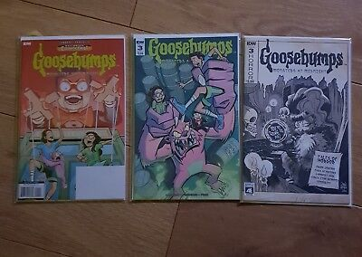 Goosebumps Monsters at Midnight 1 And 3 + Variant