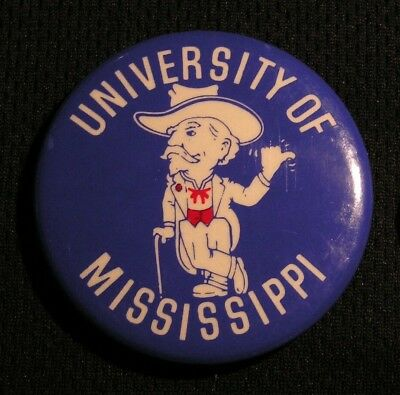 2b9e7d0b1cc VINTAGE OLE MISS REBELS COLONEL REB PIN University of Mississippi NCAA  Football