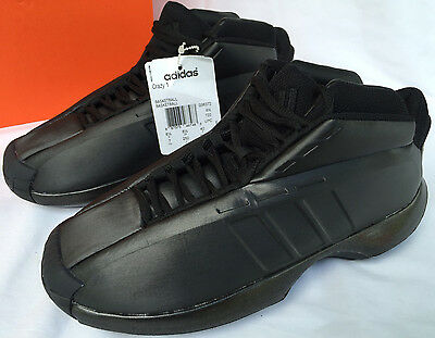1e376b4acee Adidas Crazy 1 Kobe Bryant G98372 Core Black Basketball Shoes Men s 7 NBA  NEW
