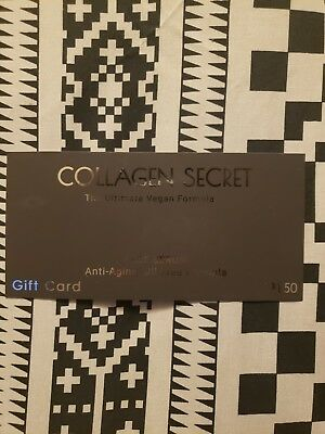 Collagen Secret The Ultimate Vegan Formula Face Serum $150    50% Discount