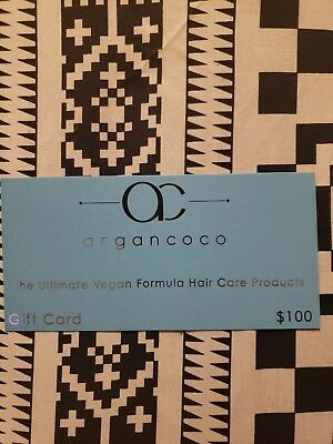 ArgonCoco The Ultimate Vegan Formula Hair Care Products $100 Gift Card  50% off!
