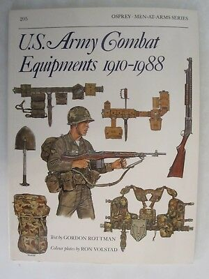 Osprey - US Army Combat Equipments 1910-88 (Men-at-Arms 205)