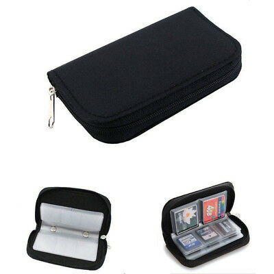 1x Memory Card Storage Carrying Case Holder Wallet For CF/SD/SDHC/MS/DS 3DS Game