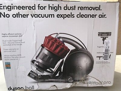 Dyson DC39 Ball Multifloor Red Pro Canister Vacuum With 5 Tools NEW Damaged Box