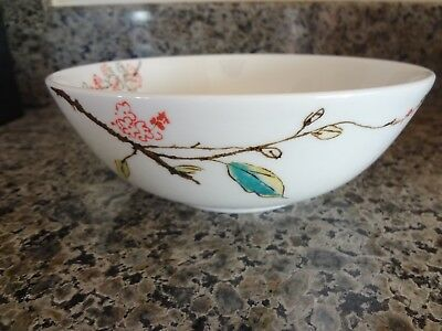 2 NEW Lenox Simply Fine Chirp Cereal Bowls