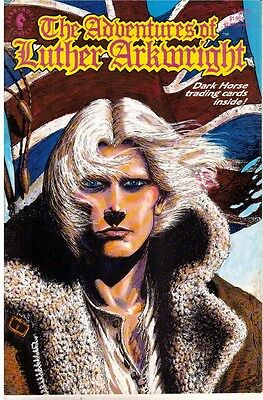 Adventures Of Luther Arkwright # 9 Dark Horse Comics En Vo